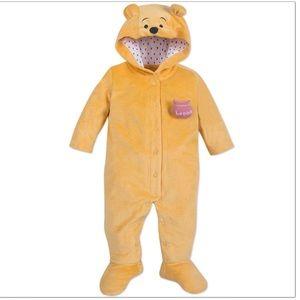 Winnie the Pooh Fleece Baby Footie